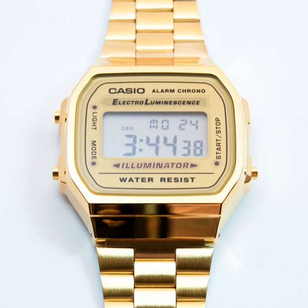 Gold Casio Two-tone Watches
